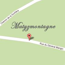Matyzmontagne : plan d'accès